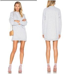 Lovers + Friends Jenn Sweatshirt in Medium Grey